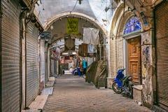 Interior del bazar en Yazd Foto de archivo