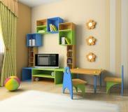 Interior del bebé libre illustration