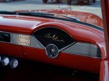Interior del Bel Air de Chevrolet Fotos de archivo libres de regalías