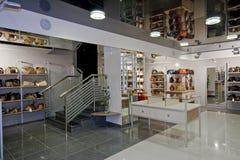 Interior del boutique Foto de archivo