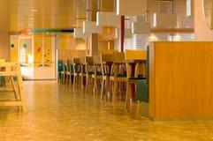 Interior del café Imagen de archivo