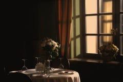 Interior del café Mañana Fotos de archivo