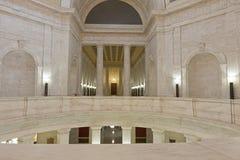 Interior del capitolio del estado de Virginia Occidental Imagenes de archivo