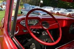 Interior del carro de Chevy Imagen de archivo