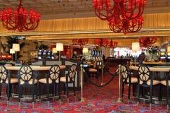 Interior del casino Imagen de archivo libre de regalías
