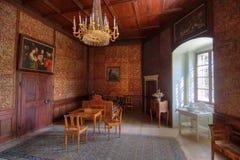 Interior del castillo Fotos de archivo libres de regalías