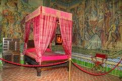 Interior del castillo Imagenes de archivo