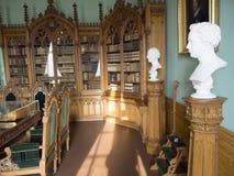Interior del castillo de Amalienborg, Copenhague Fotografía de archivo