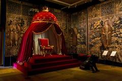 Interior del castillo de Frederiksborg, Dinamarca Imagen de archivo libre de regalías