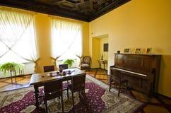 Interior del castillo de Ksiaz, Polonia Foto de archivo