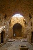 Interior del castillo de Paphos Imagen de archivo