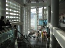Interior del centro del convenio y de exposición, Hong Kong fotos de archivo libres de regalías