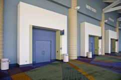 Interior del centro de convención imagen de archivo libre de regalías