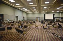 Interior del centro de convención foto de archivo