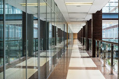 Interior del centro de negocios Imagen de archivo libre de regalías