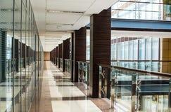 Interior del centro de negocios Fotos de archivo libres de regalías