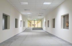 Interior del centro de negocios de Moder Fotografía de archivo libre de regalías
