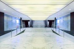 Interior del centro de negocios de Moder Fotos de archivo
