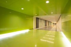 Interior del centro de negocios de Moder Foto de archivo libre de regalías