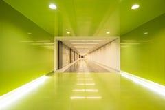 Interior del centro de negocios de Moder Imagenes de archivo
