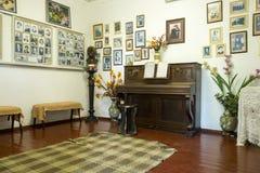 Interior del chalet de Anton Chekhov en Gurzuf Imagen de archivo