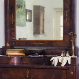 Interior del chalet de Anton Chekhov en Gurzuf Fotos de archivo libres de regalías