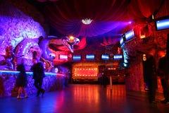 Interior del club de noche Fotos de archivo