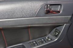 Interior del coche Imagen de archivo libre de regalías