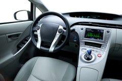 Interior del coche fotografía de archivo