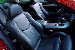Interior del coche Imagen de archivo