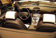 Interior del coche Fotografía de archivo libre de regalías