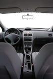 Interior del coche aislado Fotografía de archivo