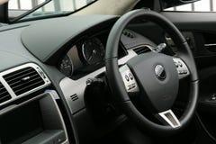 Interior del coche de deportes Imagen de archivo