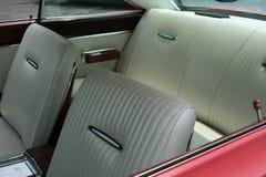 Interior del coche de la vendimia Foto de archivo