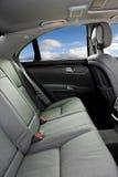 Interior del coche de lujo Imagenes de archivo