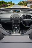 Interior del coche de lujo Fotos de archivo libres de regalías