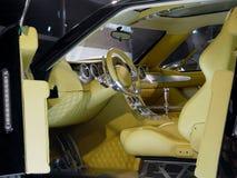 Interior del coche moderno Imagen de archivo libre de regalías