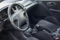 Interior del coche moderno Fotografía de archivo libre de regalías