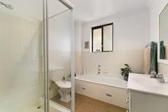 Interior del cuarto de baño Fotografía de archivo