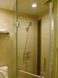 Interior del cuarto de baño del hotel Fotos de archivo