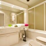 Interior del cuarto de baño Imagen de archivo