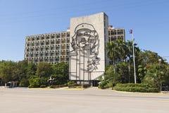 Interior del de Ministerio, La Habana Fotografía de archivo libre de regalías
