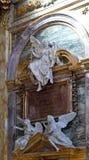 Interior del dei Santi Ambrogio e Carlo al Corso, Roma de la basílica Fotos de archivo