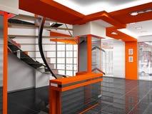 Interior del departamento Imágenes de archivo libres de regalías