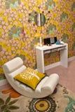 Interior del dormitorio Imágenes de archivo libres de regalías