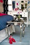 Interior del dormitorio Imagen de archivo