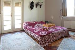 Interior del dormitorio Fotografía de archivo