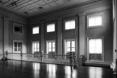 Interior del edificio antiguo Imagen de archivo libre de regalías