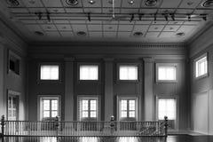 Interior del edificio antiguo Fotos de archivo libres de regalías