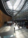 Interior del edificio del metal Fotos de archivo libres de regalías